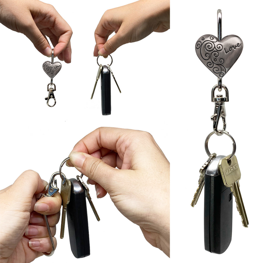 Love Heart Finders Key Purse®