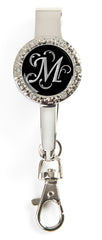"Monogram BLING Key'P It Up® Purse Hanger ""M"""