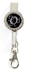 "Monogram BLING Key'P It Up® Purse Hanger ""O"""