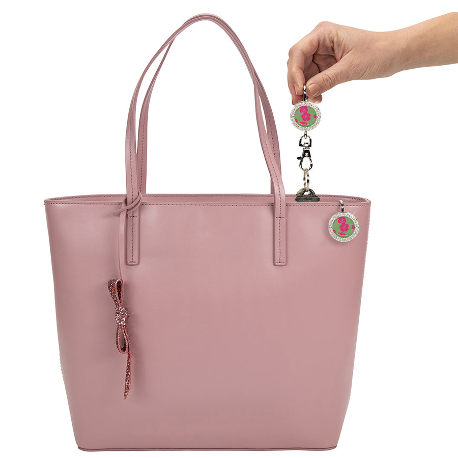 Wild Roses Bling Finders Key Purse®