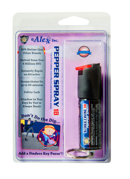 Finders Keep HerSafer™ Pepper Spray