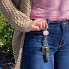 Breast Cancer Awareness BLING Finders Key Purse®