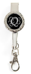 "Monogram BLING Key'P It Up® Purse Hanger ""Q"""