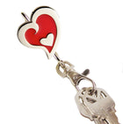 Red Heart in Heart Finders Key Purse®