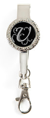 "Monogram BLING Key'P It Up® Purse Hanger ""U"""