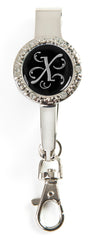 "Monogram BLING Key'P It Up® Purse Hanger ""X"""