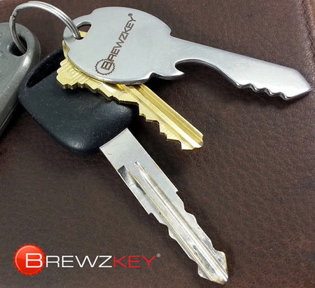 Brewzkey® Key-Shaped Bottle Opener