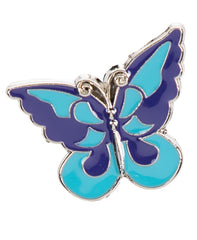 blue butterfly keychain, blue keychain, butterfly keychain, butterfly accessories