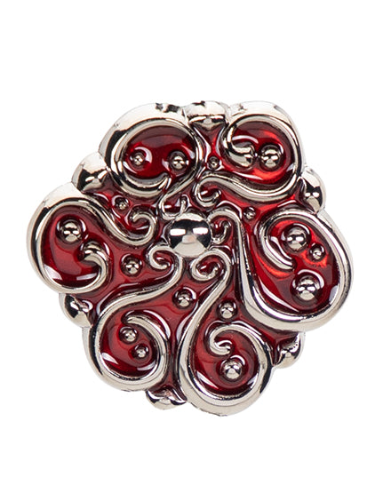 Crimson Swirls Finders Key Purse®