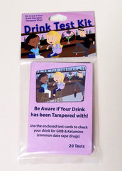 drink test kit, drink test, how to test your spiked drink, how to test if your drink was spiked