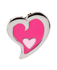 Pink Heart in Heart Finders Key Purse®