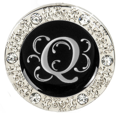 "Monogram BLING Finders Key Purse® ""Q"""