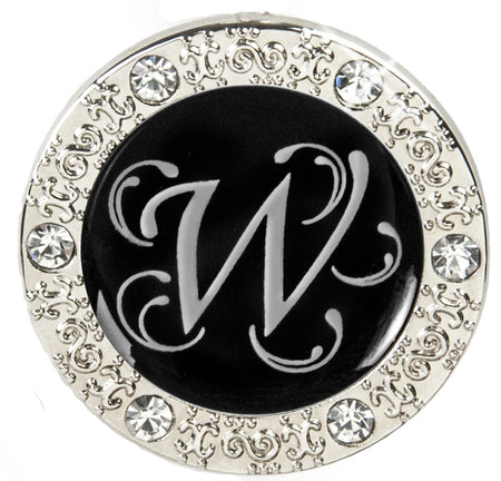 "Monogram BLING Finders Key Purse® ""W"""
