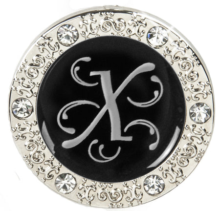 "Monogram BLING Finders Key Purse® ""X"""