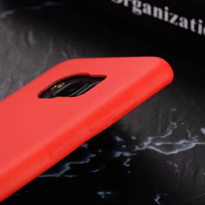 Red Thermal Sensor Case for iPhone 5 to X - God Of Cases