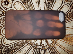 Brown Thermal Sensor Case For iPhone 6 to 8 - God Of Cases