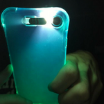 LED Flash Light Case for iPhone 5 to 8 - God Of Cases