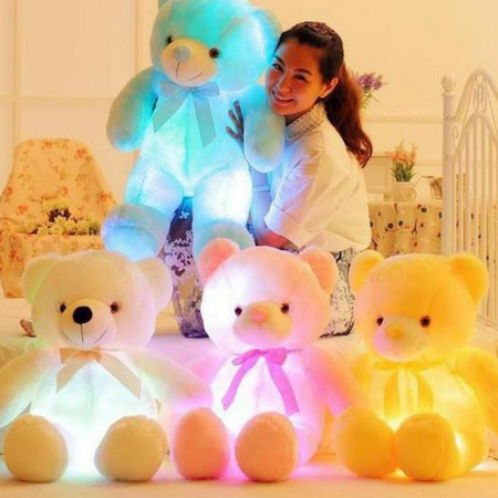 LED Stuffed Teddy Bear - God Of Cases