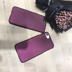 Luxury Wine Red Case for iPhone 6 Plus / 6s Plus / 7 Plus / 8 Plus - God Of Cases