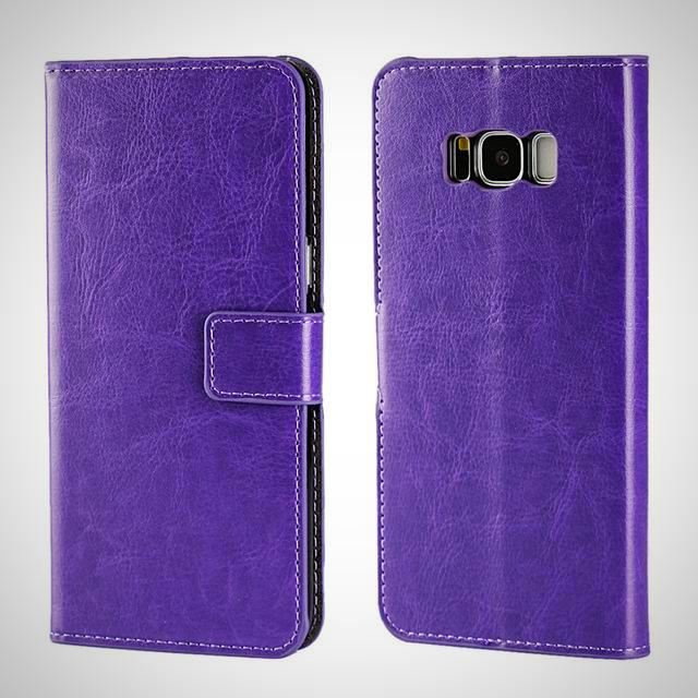 Leather Wallet Case For Samsung Galaxy S7 / S7 Edge / S8 / S8 Plus - God Of Cases