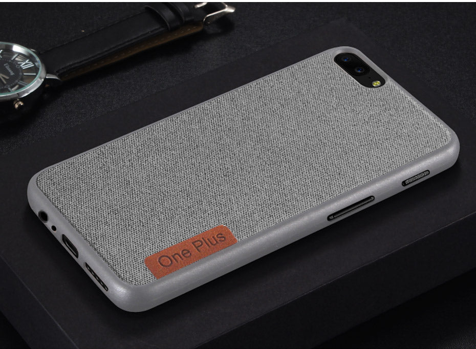 Cotton Cloth Case For OnePlus 5 / 5T - God Of Cases
