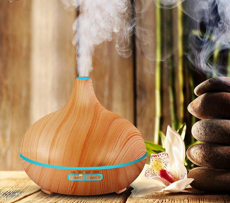 Air Humidifier Oil Diffuser Aroma Lamp - God Of Cases