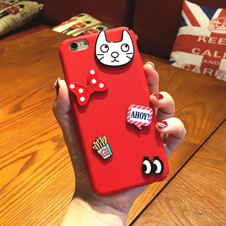 Vivo 3D Cat Cartoon Phone Case - God Of Cases