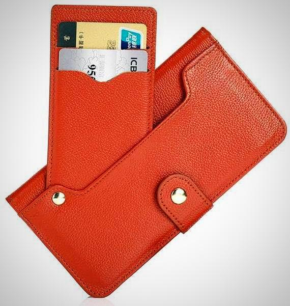 Red Leather Wallet  Case for iPhone 6 to X - God Of Cases