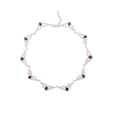 Eternal Garnet Glow Necklace