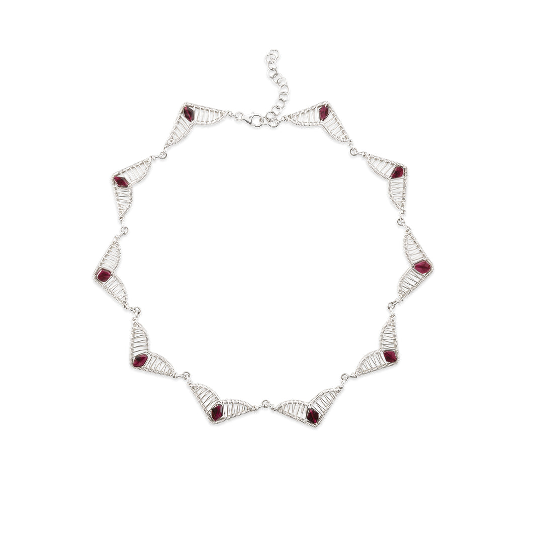 Garnet Glow Necklace