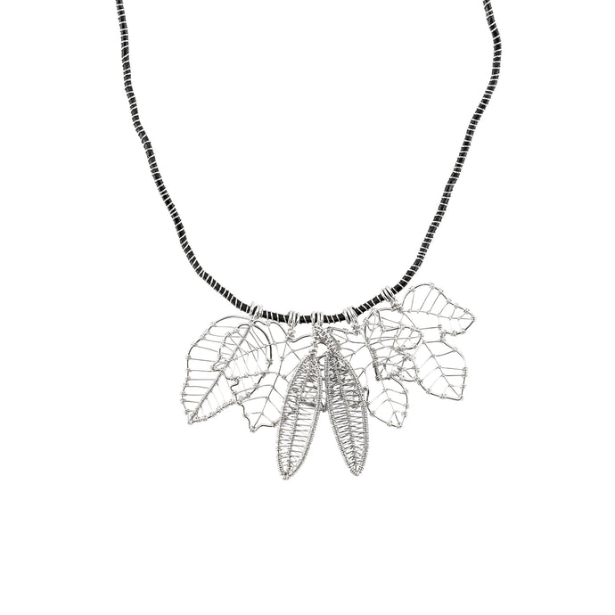 Greek Leaves Necklace