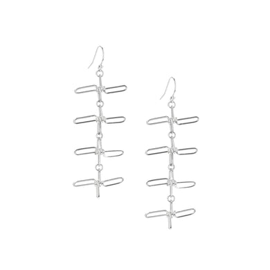 Sterling Spiked Earrings