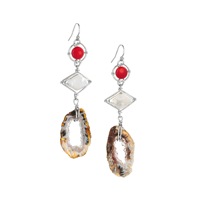Crystal Fire Earrings