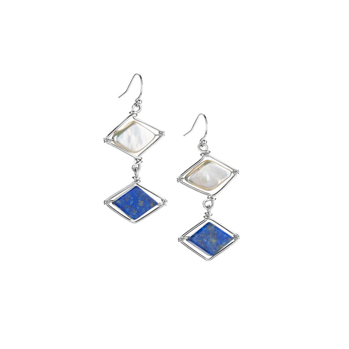 Diamond Point Earrings