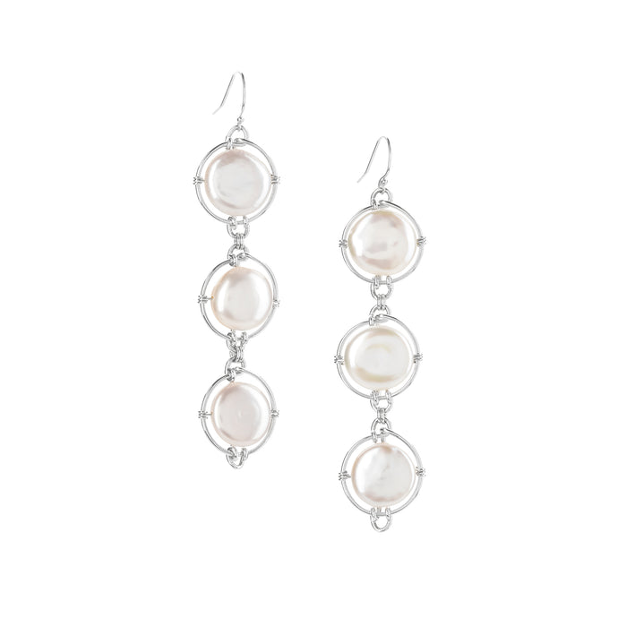 Pearl Continuum Earrings