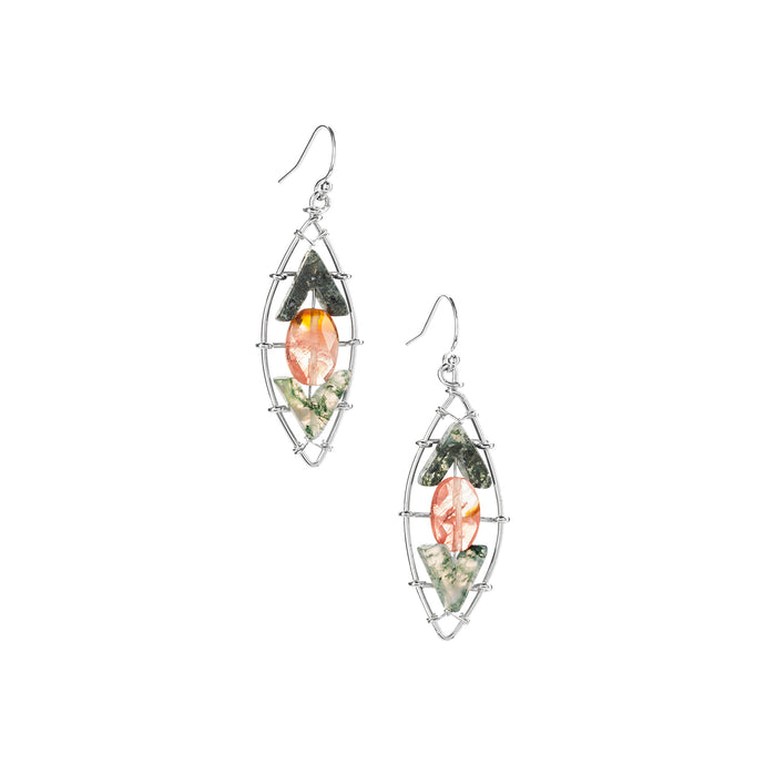 Beloved Water Lily Earrings