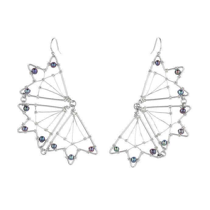 Blue Mariposa Earrings