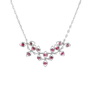 Garnet Vine Necklace