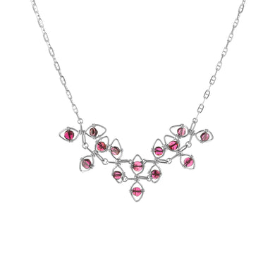 Boundless Garnet Vine Necklace