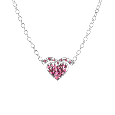 Boundless Flying Heart Necklace