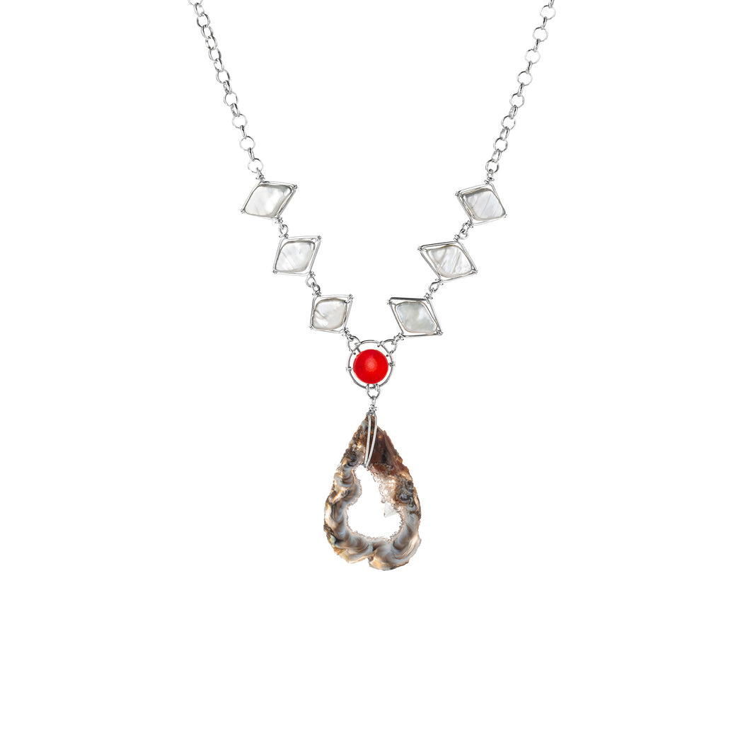 Crystal Fire Necklace