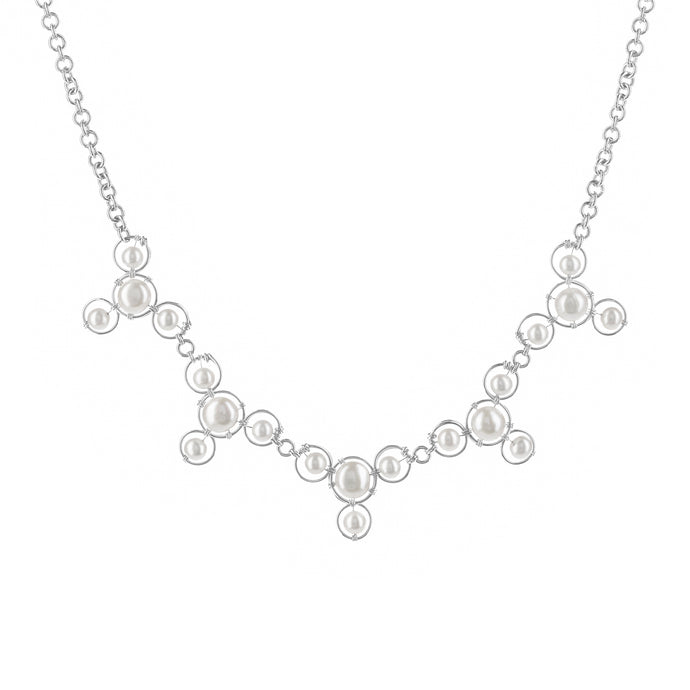 Beloved Pearl Bubble Lush Necklace
