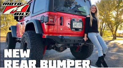 Install Video:  Jeep JL Crusher Rear Bumper & Tag Mount
