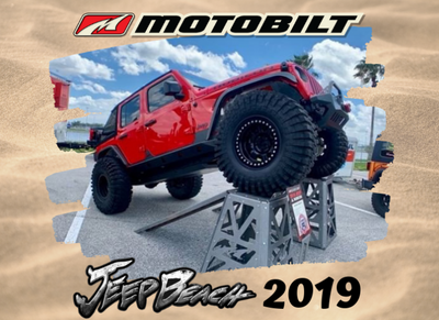Jeep Beach 2019 Daytona Florida With Motobilt