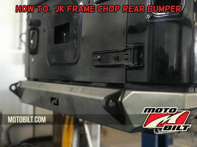 How To: Cutting the frame for the Motobilt JK frame chop rear bumper