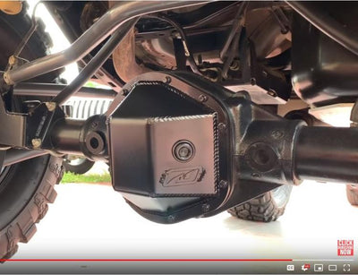 Dana 44 Diff Cover Install Video On A Jeep JK Rear