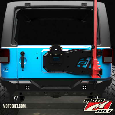 Jeep JK Spare Tire Carrier Now Available