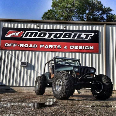 Custom Build Jeep YJ 4 Link Suspension