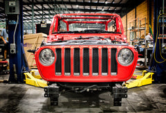 The next Motobilt build begins - Alex's Red Jeep JL