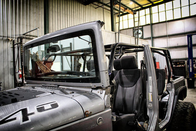 Prototyping the Motobilt Roll Cage for Jeep JKU - PART TWO